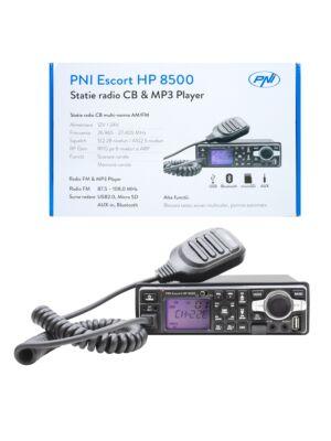 La estación de radio HP 8500 ASQ PNI Escort CB y MP3 incluye auriculares HS81 y HS71