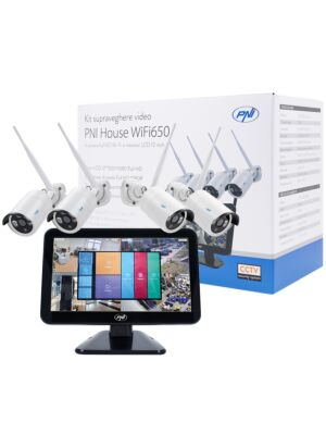 PNI House WiFi650 kit de videovigilancia