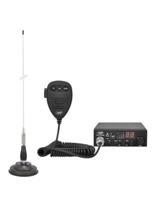 Kit CB radio CBI ESCORT HP 8000L ASQ + Antena CB PNI ML100