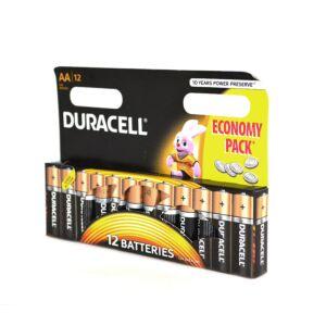 Batería alcalina Duracell AA o R6 código 81267246 blíster 12bc